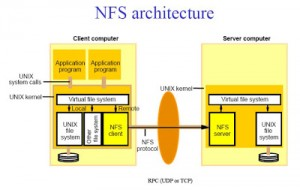 NFS-architecture
